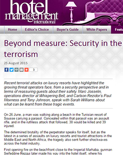 Beyond measure: Security in the face of terrorism