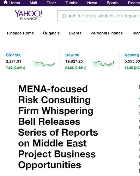 MENA-focused Risk Consulting Firm Whispering Bell